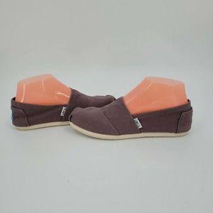 Tom's Alpargata Canvas Shoe Ash Gray Classic
